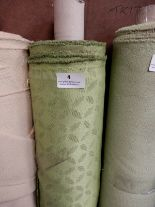 """Lot 4 - 48"""" Width Roll of Green Fabric Approx 15m"""