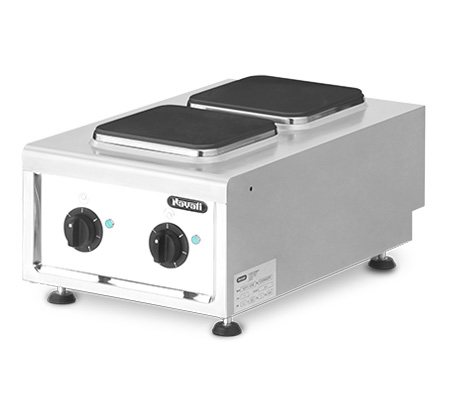 Lot 51 - *Amicus 600 Range, electric, countertop, (2) square hotplates, manual controls, (6) heat settings, 5