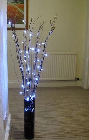 v brand new set of twig lights 50 led includes indoor rated mains