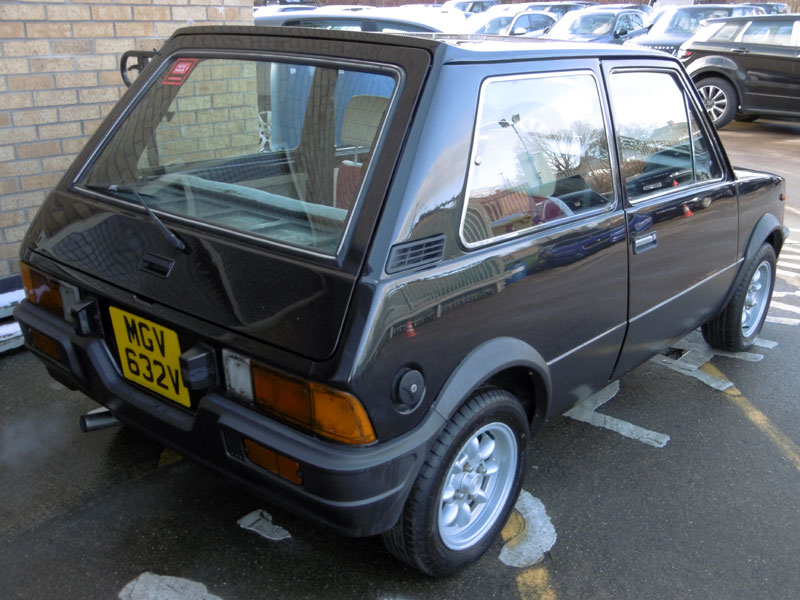 Lot 13 - 1980 Innocenti Mini de Tomaso
