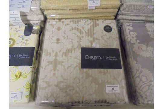 Christy Bedlinen Collection Single Duvet Cover 140 X 200cm New And