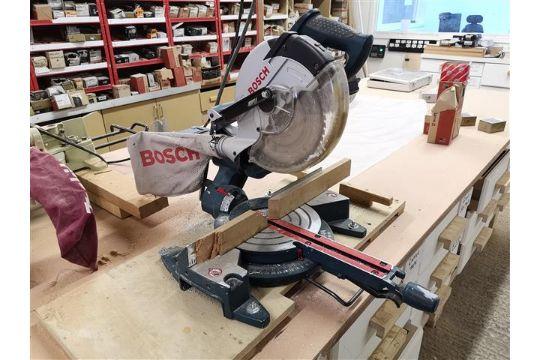 Bosch Gcm 8sj 8quot Professional Sliding Mitre Saw 240v
