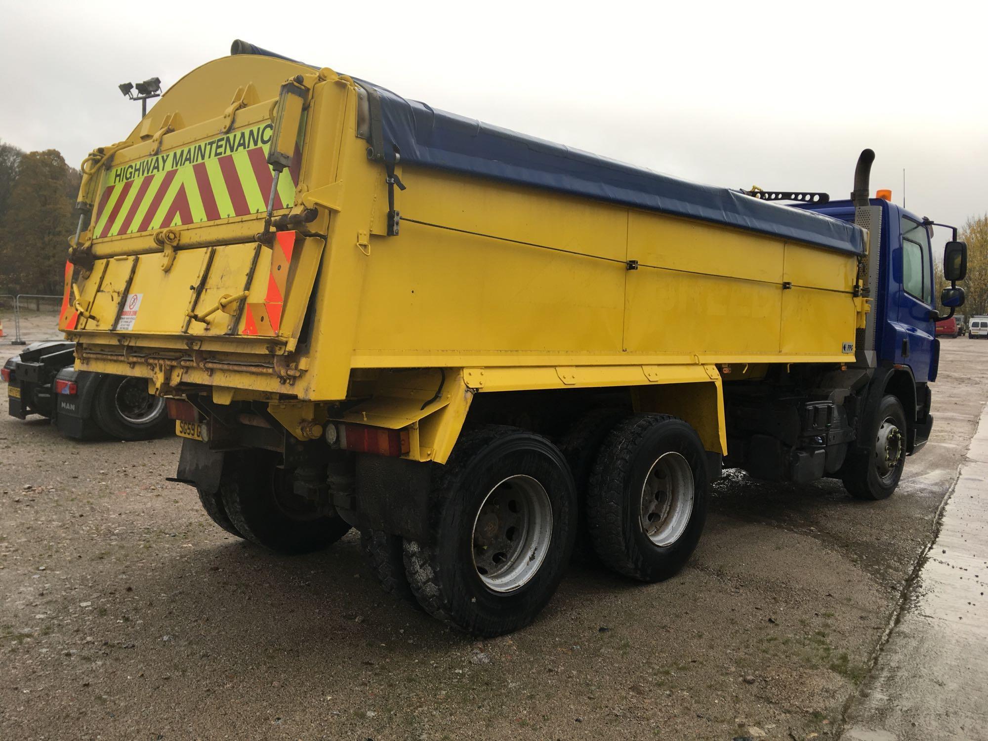 Lot 4017 - Daf Trucks Cf Fat Cf 75.310 Day E4 - 9200cc 2 Door Truck