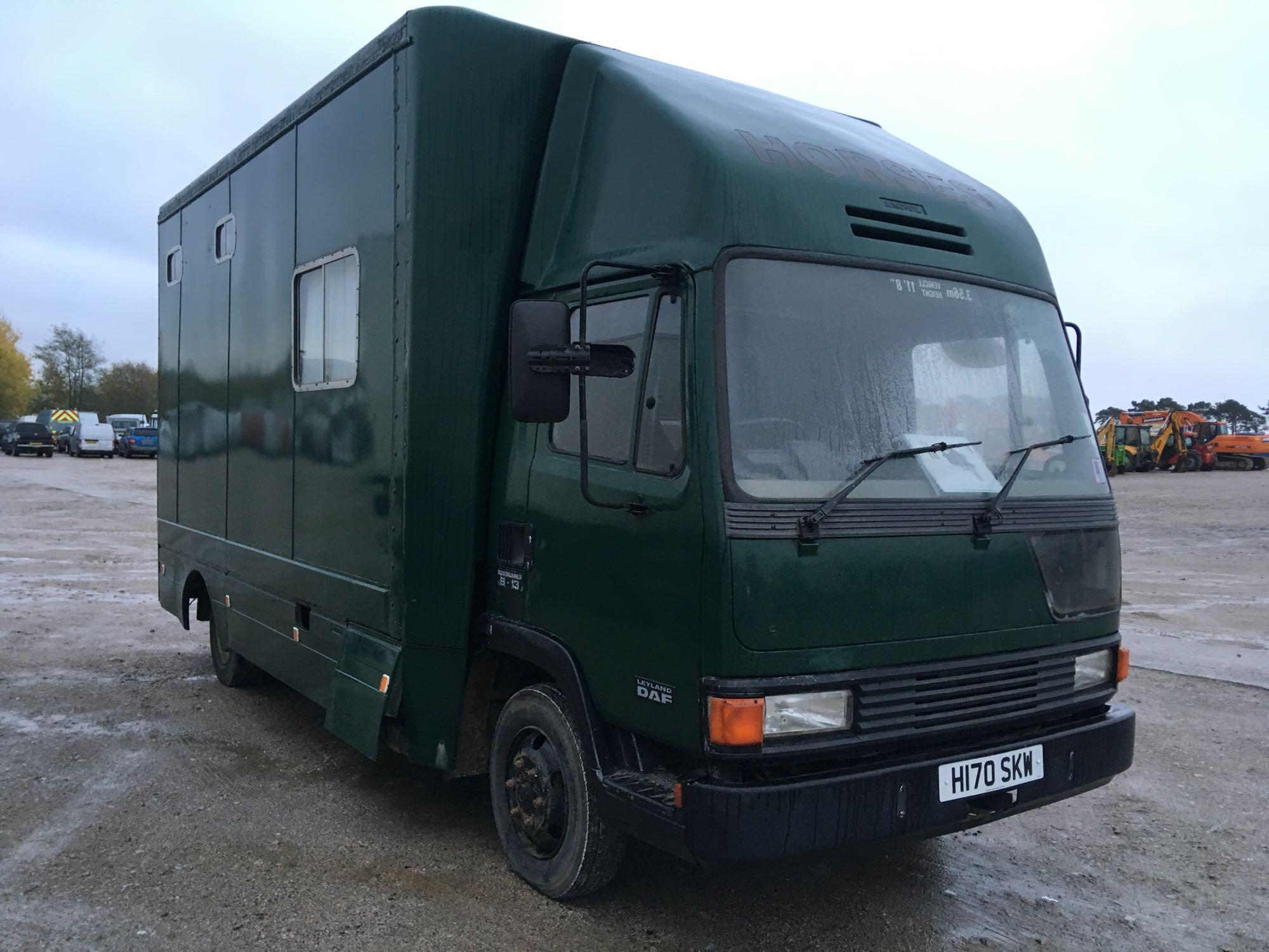Lot 4025 - Leyland Roadrunner 8.13 - 0cc 2 Door Truck