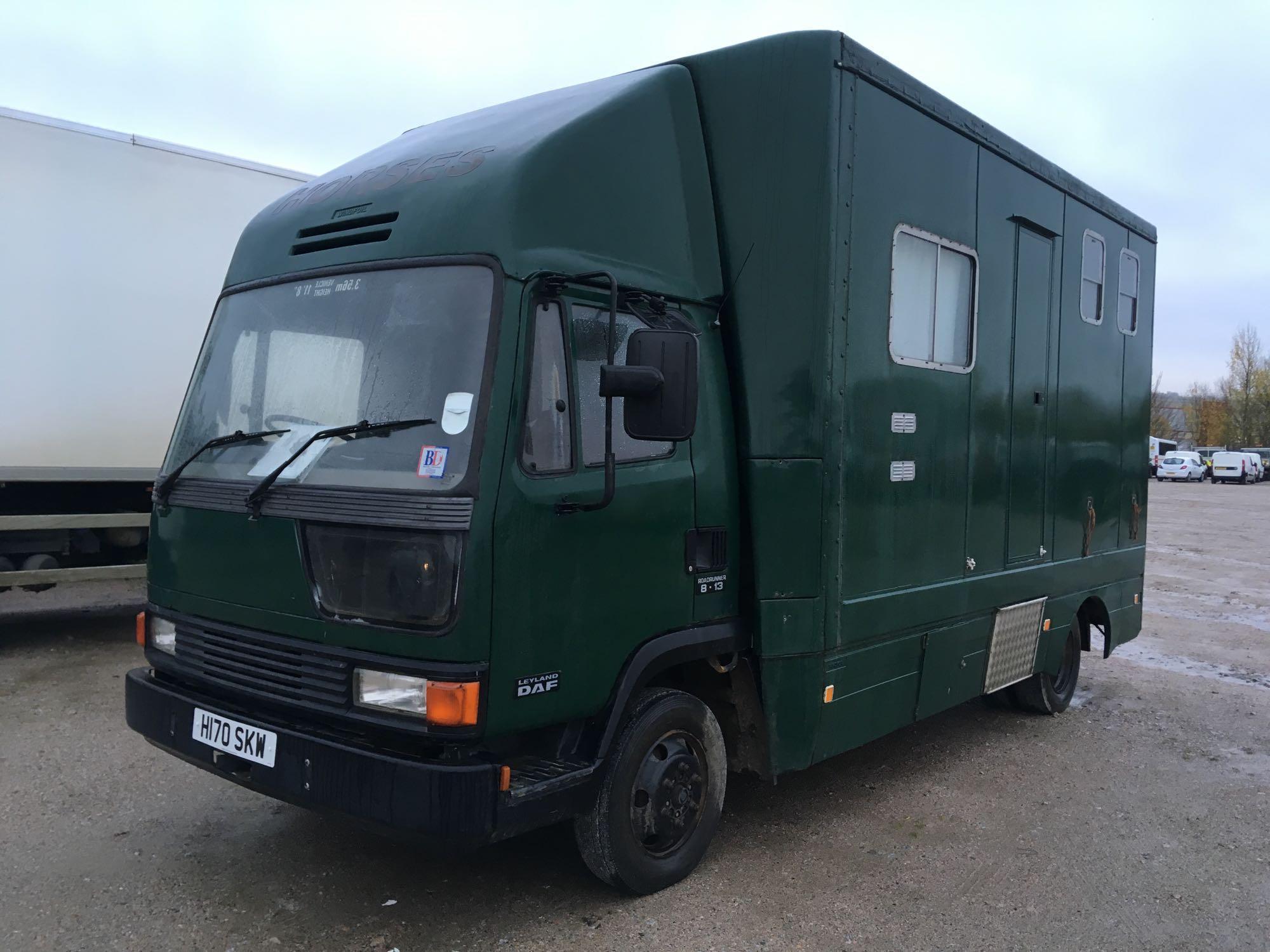 Lot 4025 - Leyland Roadrunner 8.13 - 0cc 2 Door Truck