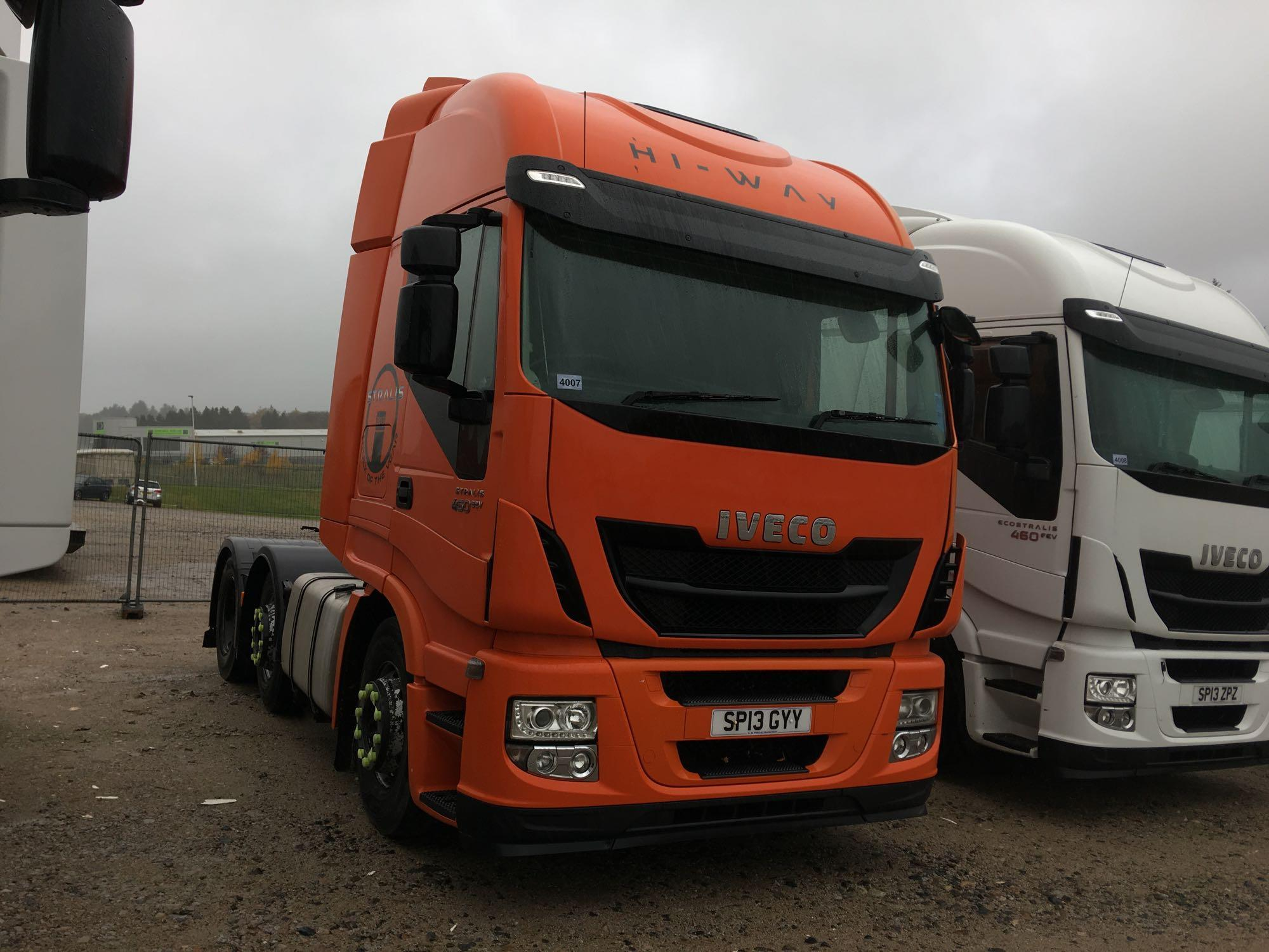 Lot 4007 - Iveco Stralis As440s46tx/p S-a - 10308cc 2 Door Truck