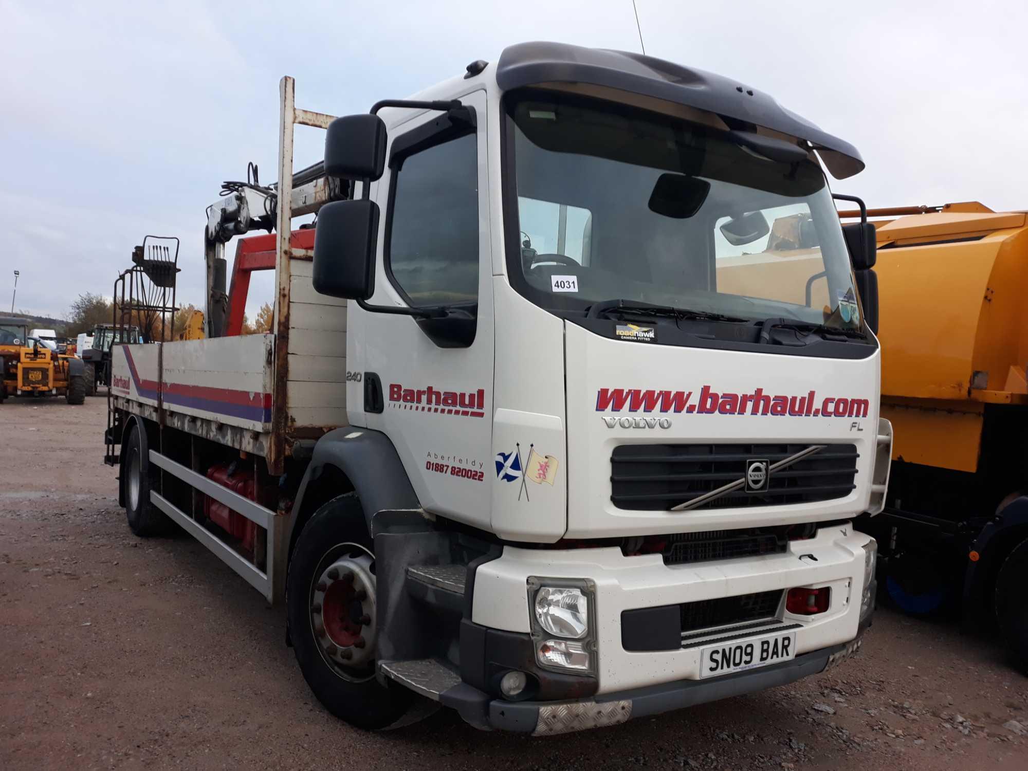 Lot 4031 - Volvo Fl Flh 4x2 L1h1 Day E4 - 7146cc 2 Door Truck