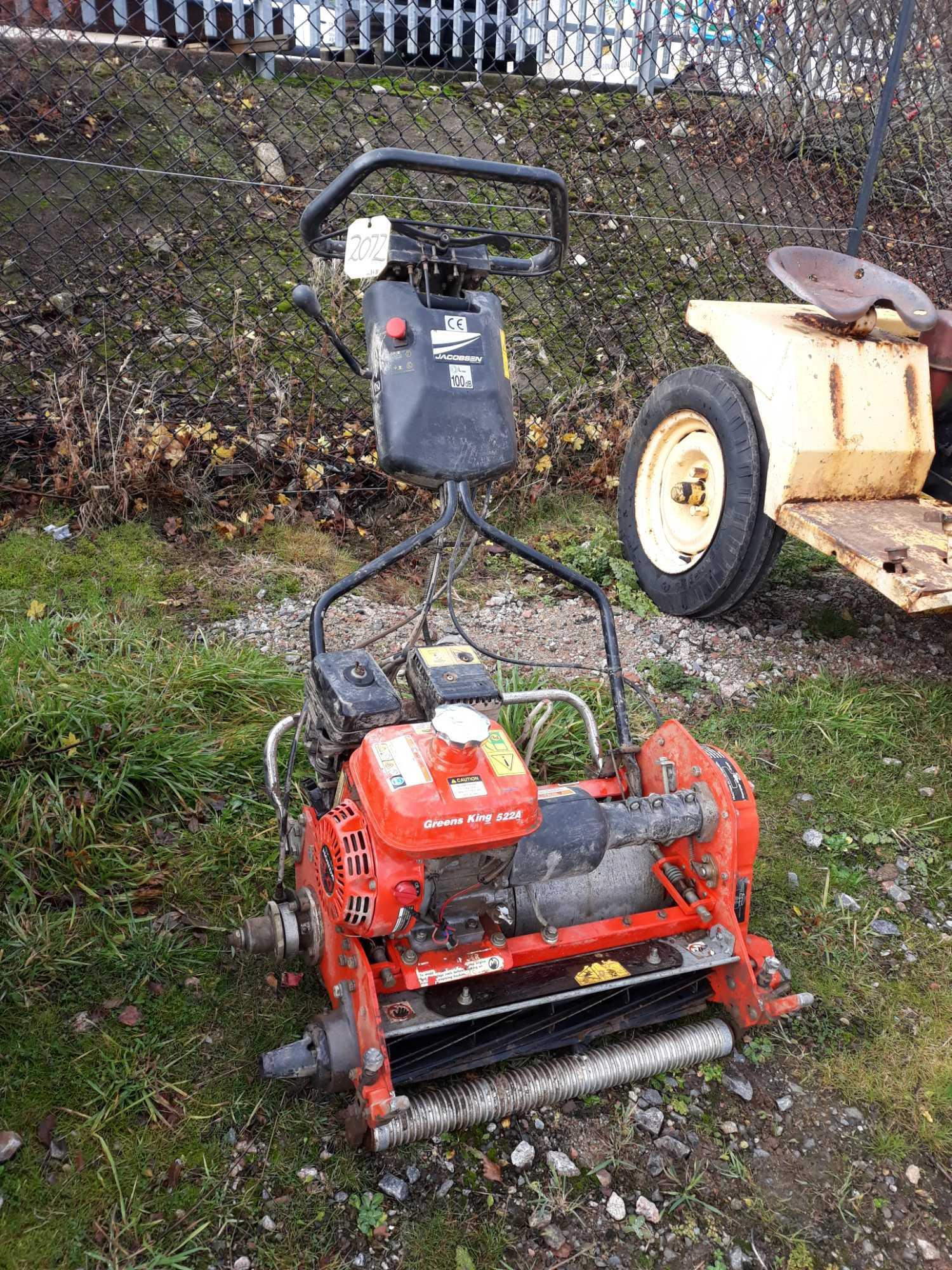Lot 2072 - JACOBSEN GREENS MOWER