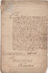 Lot 355 - MARLBOROUGH DUKE OF: (1650-1722) John Churchill. English Soldier and Statesman.
