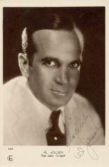 Lot 39 - JOLSON AL : (1886-1950) American Singer,