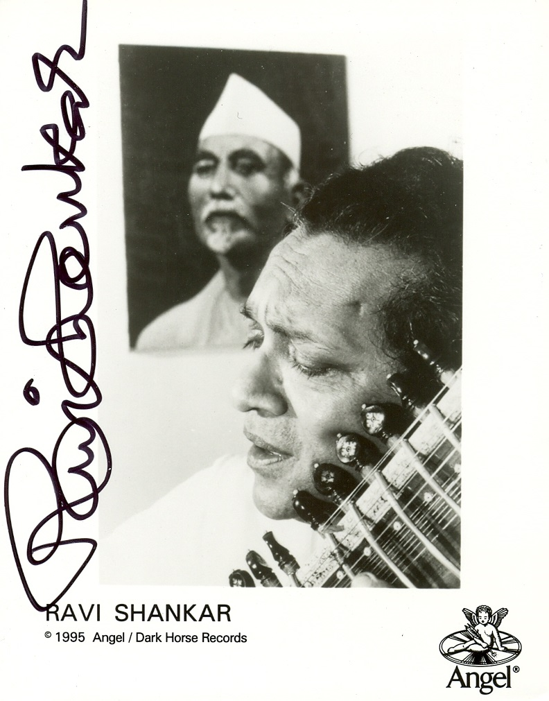 Lot 153 - SHANKAR RAVI: (1920-2012) Indian Musicia