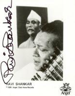 Lot 153 - SHANKAR RAVI: (1920-2012) Indian Musicia