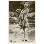Lot 40 - HENIE SONJA: (1912-1969) Norwegian Skate