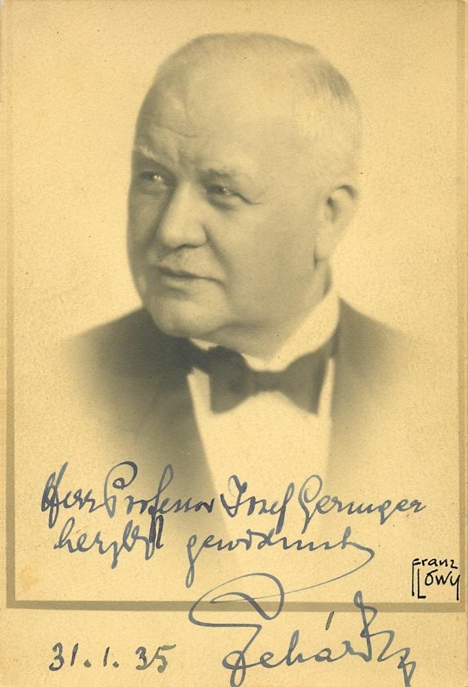 Lot 165 - LEHAR FRANZ: (1870-1948) Austrian Compos