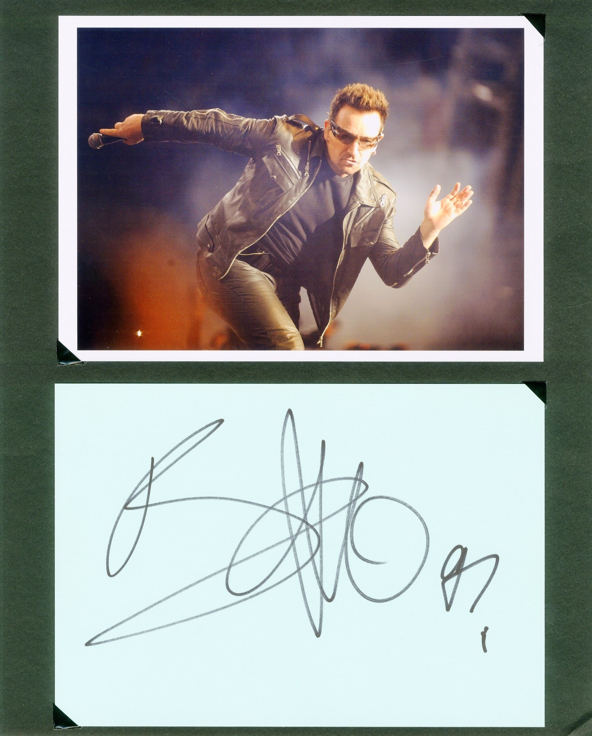 Lot 151 - BONO: (1960- ) Irish Singer and Songwrit