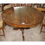 Tavolo rotondo dell'800 cm. 120 (V.F. 901 / 4062)