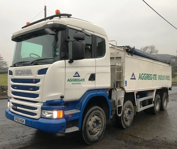 Lot 6 - 2016 | Scania G410 8x4 Sleeper Cab w/ Wilcox Tipping Body | 285,000km