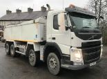 Lot 3 - 2017 | Volvo FM410 8x4 w/ PPG Insulated Tipping Body | 220,000km