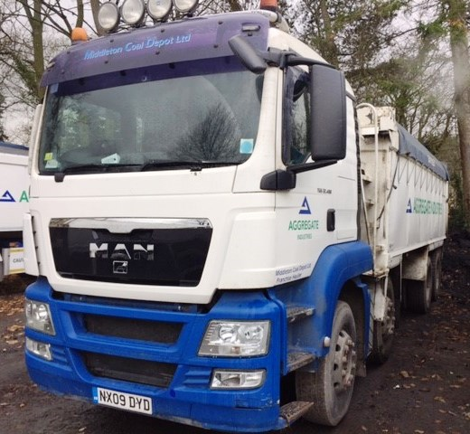 Lot 11 - 2009 | Man TGS 32 400 8x4 Sleeper Cab w/ PPG Insulated Tipper Body | 880,000km