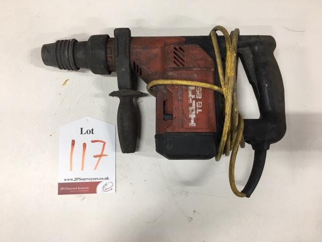Lot 117 - Hilti Hammer Drill