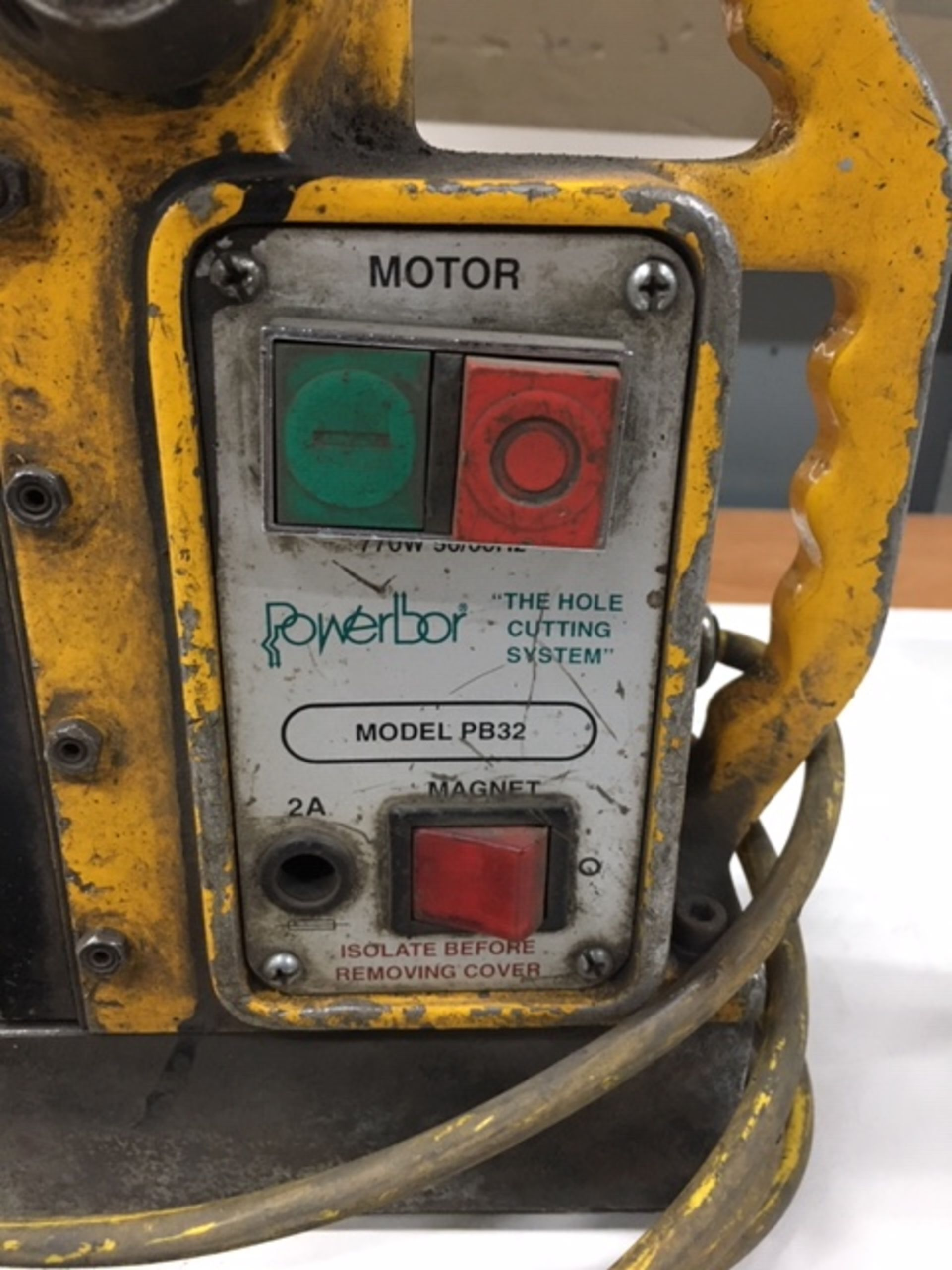 Lot 106 - Powerbor magnet drill
