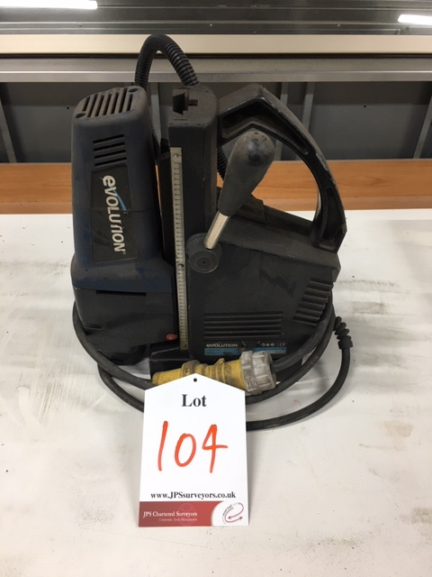 Lot 104 - Evolution Magnet Drill