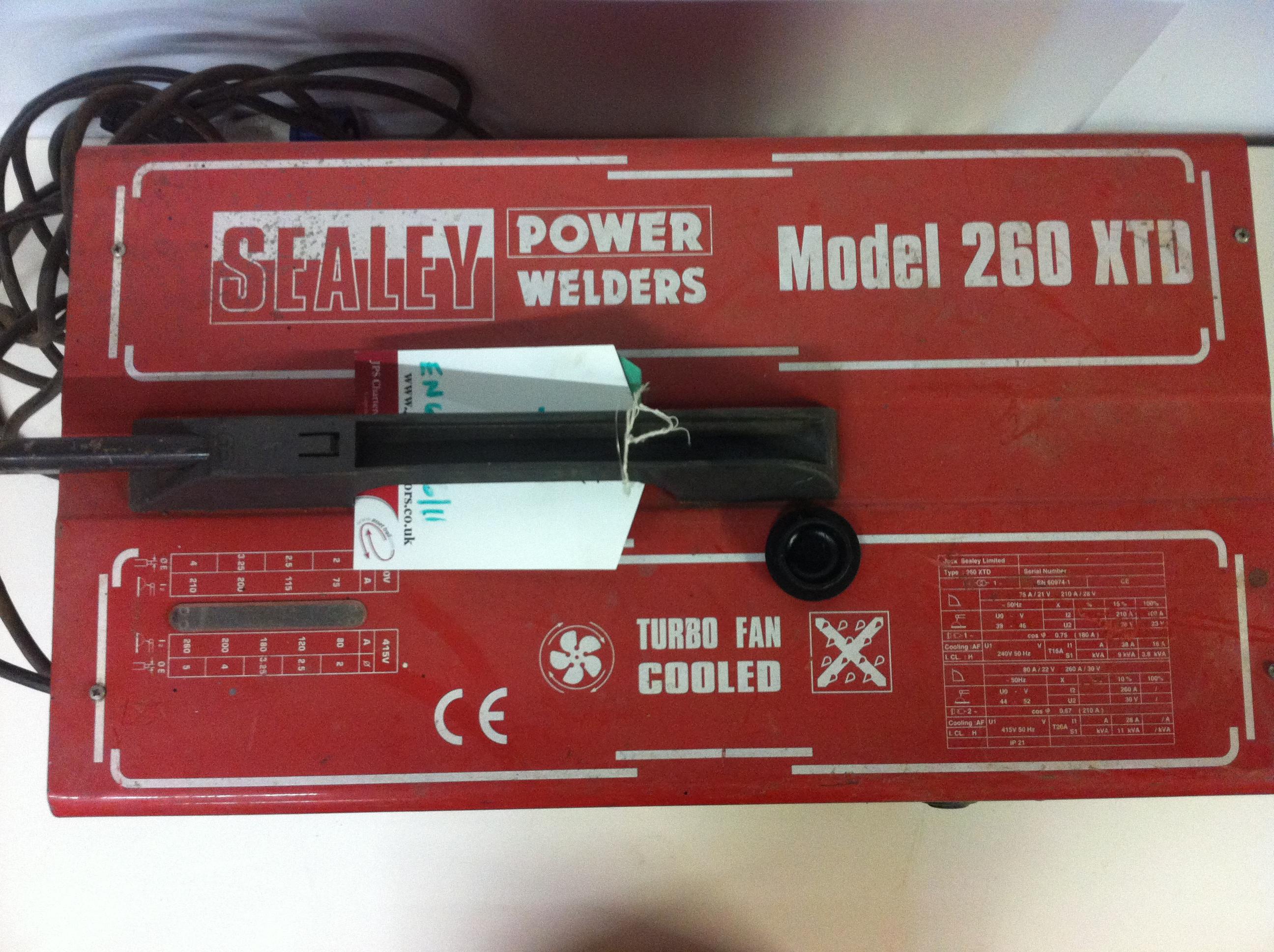 Lot 7 - Sealey Power Welder 260
