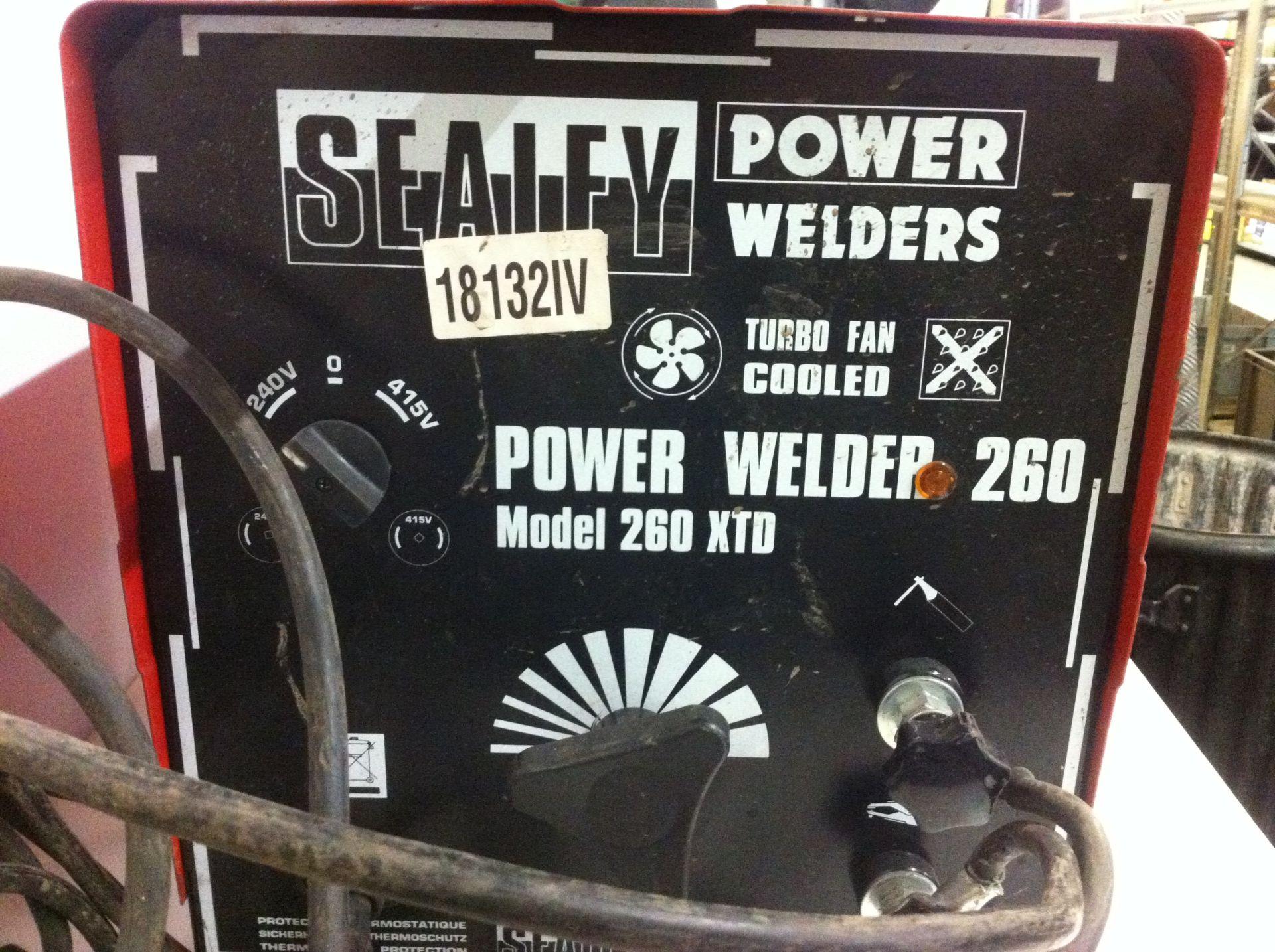 Lot 7 - Sealey Power Welder 260