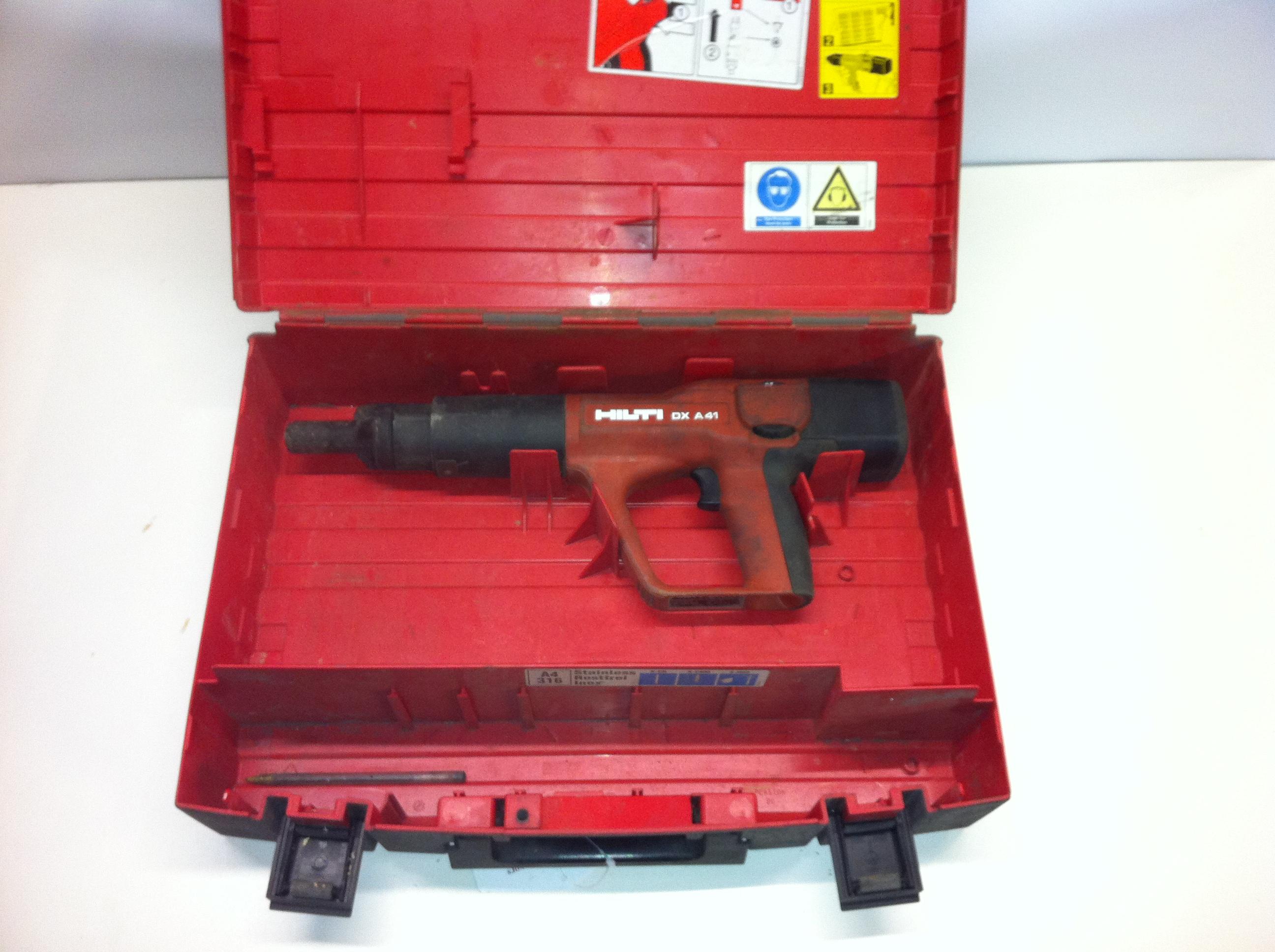 Lot 125 - Hilti Nail Gun