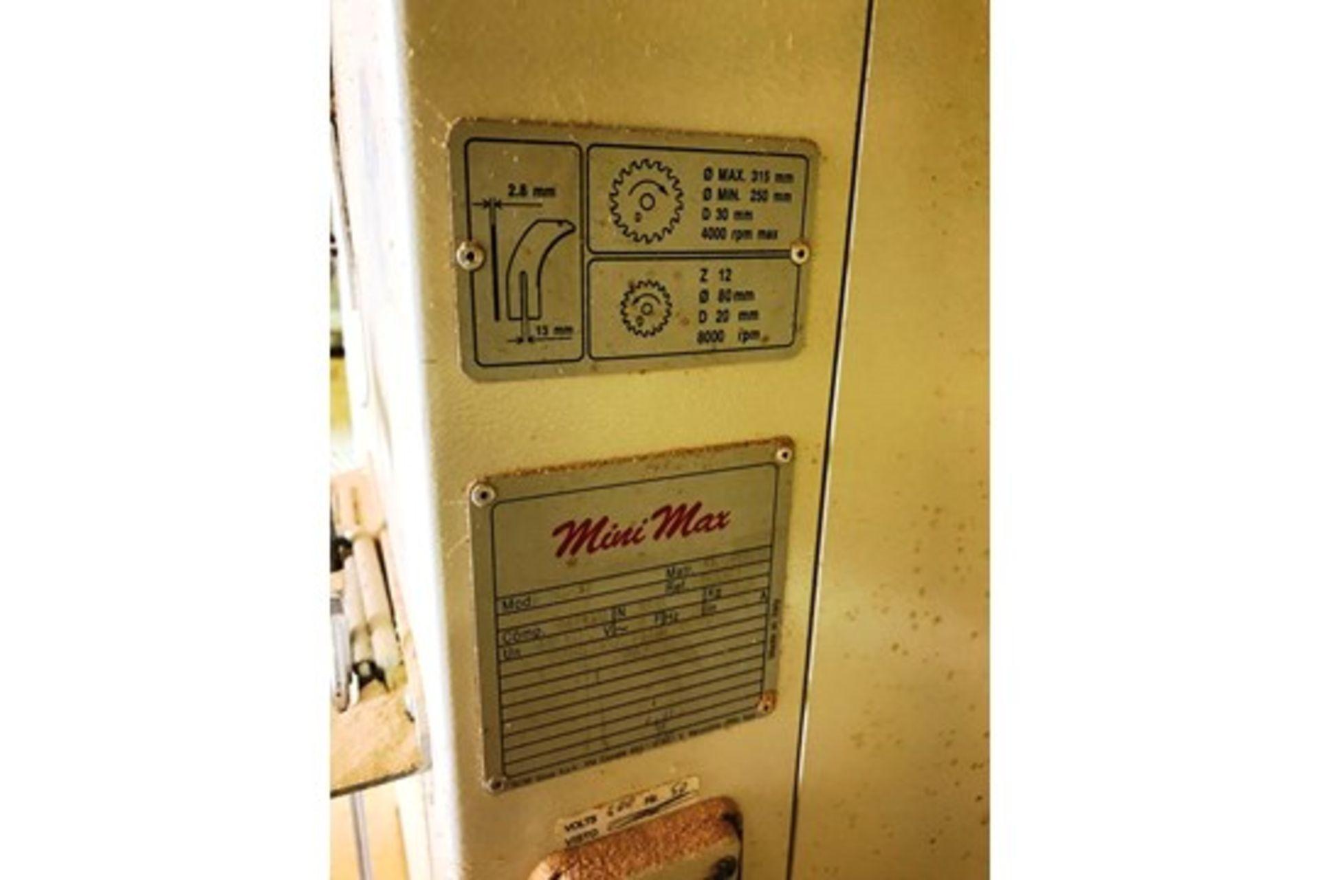 Lot 2 - SCM Mini Max SC3W Panel Saw | YOM: 2003