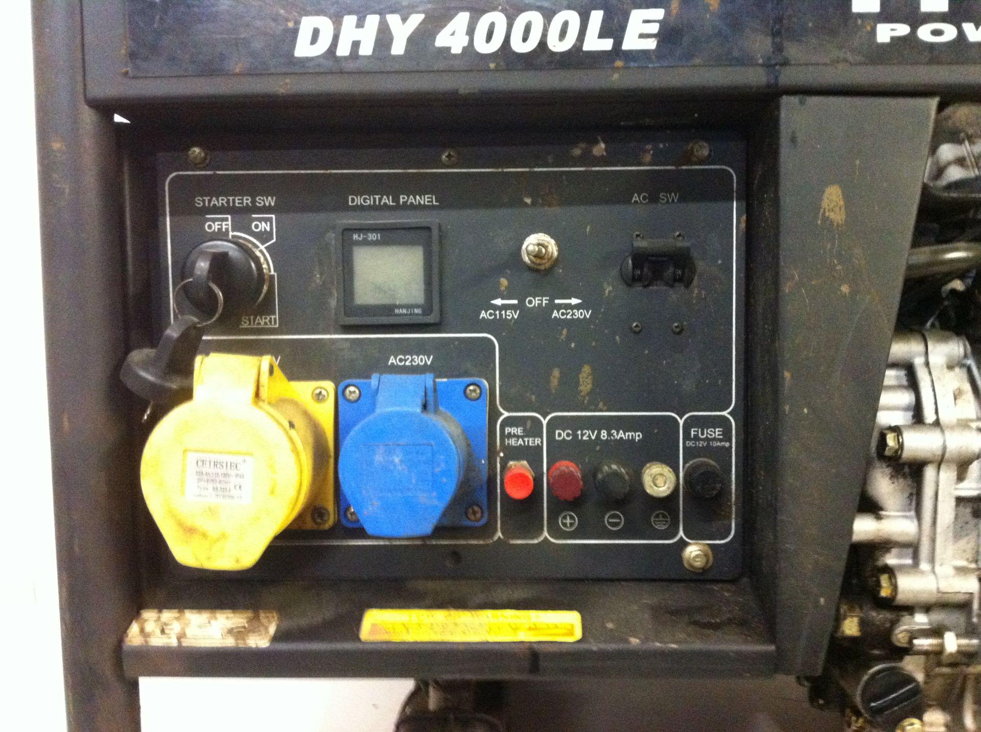 Lot 6 - Hyundai Power Products Diesel Generator
