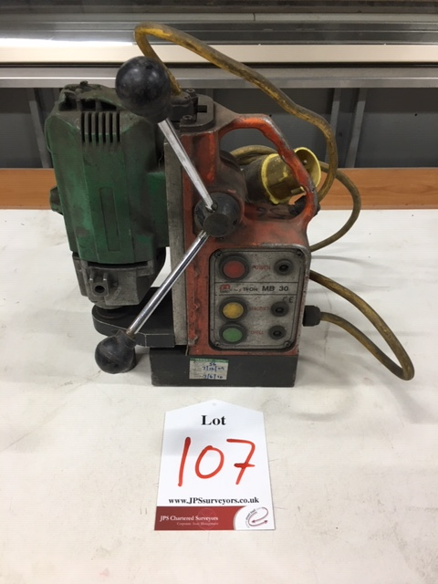 Lot 107 - Magtron magnet drill
