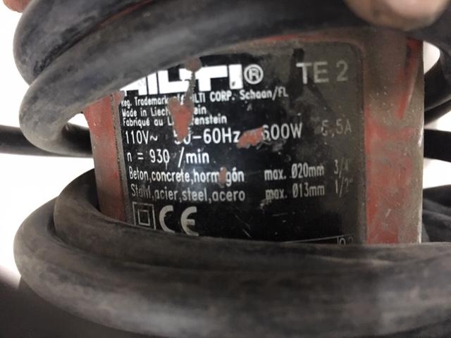 Lot 115 - Hilti Hammer Drill