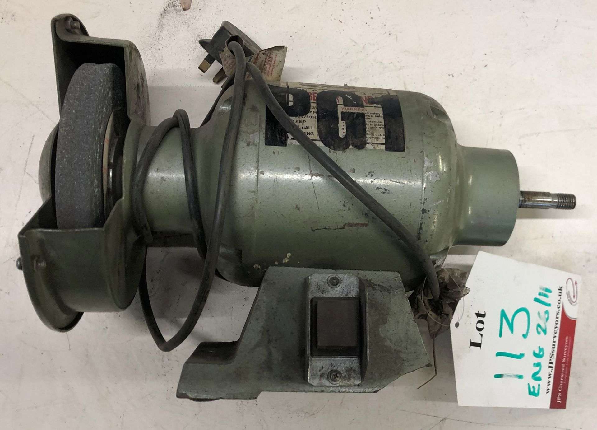 Lot 113 - SIP Heavy Duty Bench Grinder
