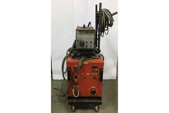 Lot 4 - Butters 9000 Series NBC 380 Mig Welder with Sterling Multifeed 25 Wire Feed Unit