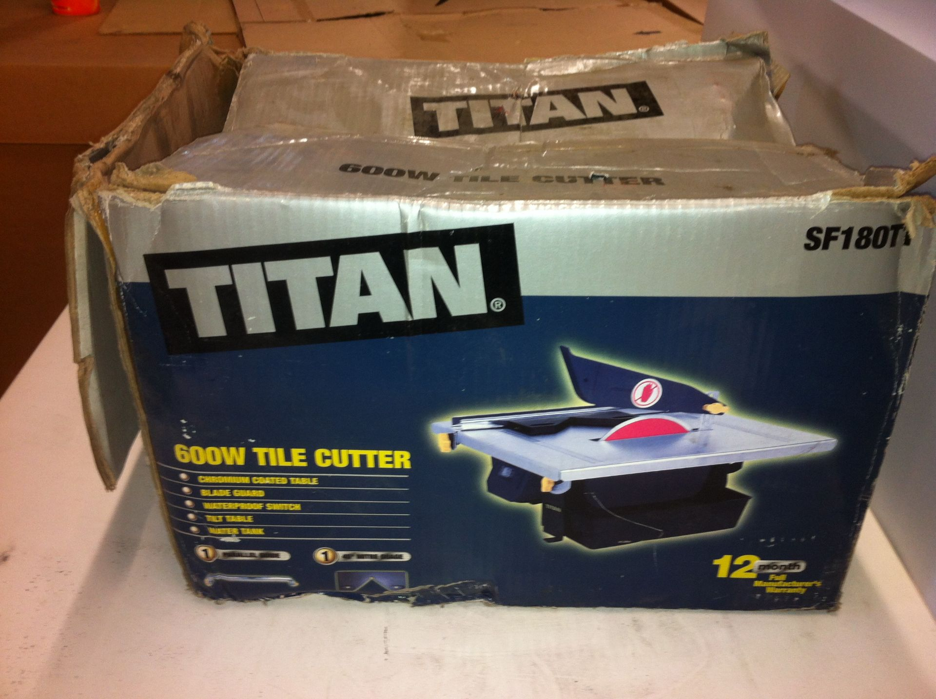 Lot 130 - Titan Tile Cutter