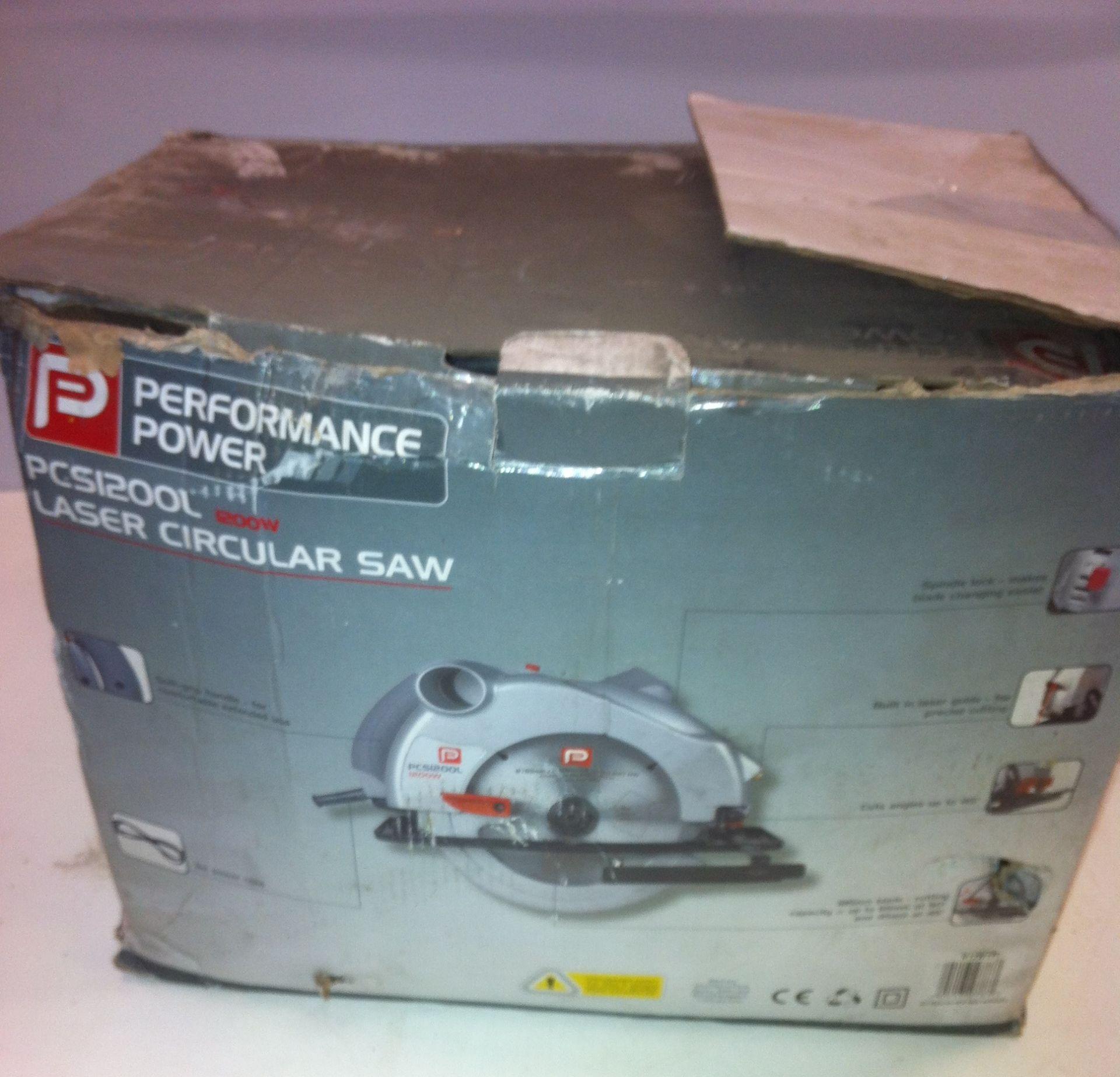 Lot 131 - Performance Power Laser Circular Saw