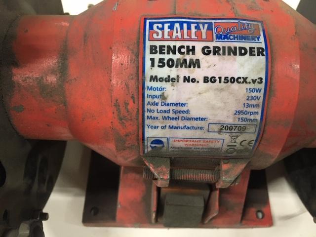 Lot 111 - Sealey Bench Grinder