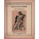 [BALLETS RUSSES, PICASSO, DIAGHILEW] Grande Saison d'Art de la 8me Olympiade. 17. Saison der Ballets