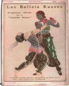[BALLETS RUSSES, BAKST, BENOIS, DOBUSCHINSKI, GROSS, MARTY, SERT] Ballets Russes, 9. Saison, Théâtre