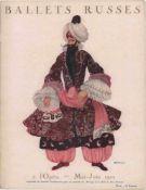[BALLETS RUSSES, GONTSCHAROWA, LARIONOW, SURVAGE] Ballets Russes im Théâtre National de l'Opéra, 15.