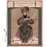 [BALLETS RUSSES, BAKST, BENOIS, GOLOWIN, VOGEL] Zeitschrift Comoedia Illustré / Michel de