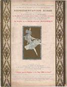 [BALLETS RUSSES, BAKST, GROSS, LARIONOW, MARTY] Zeitschrift Comoedia Illustré / Michel de