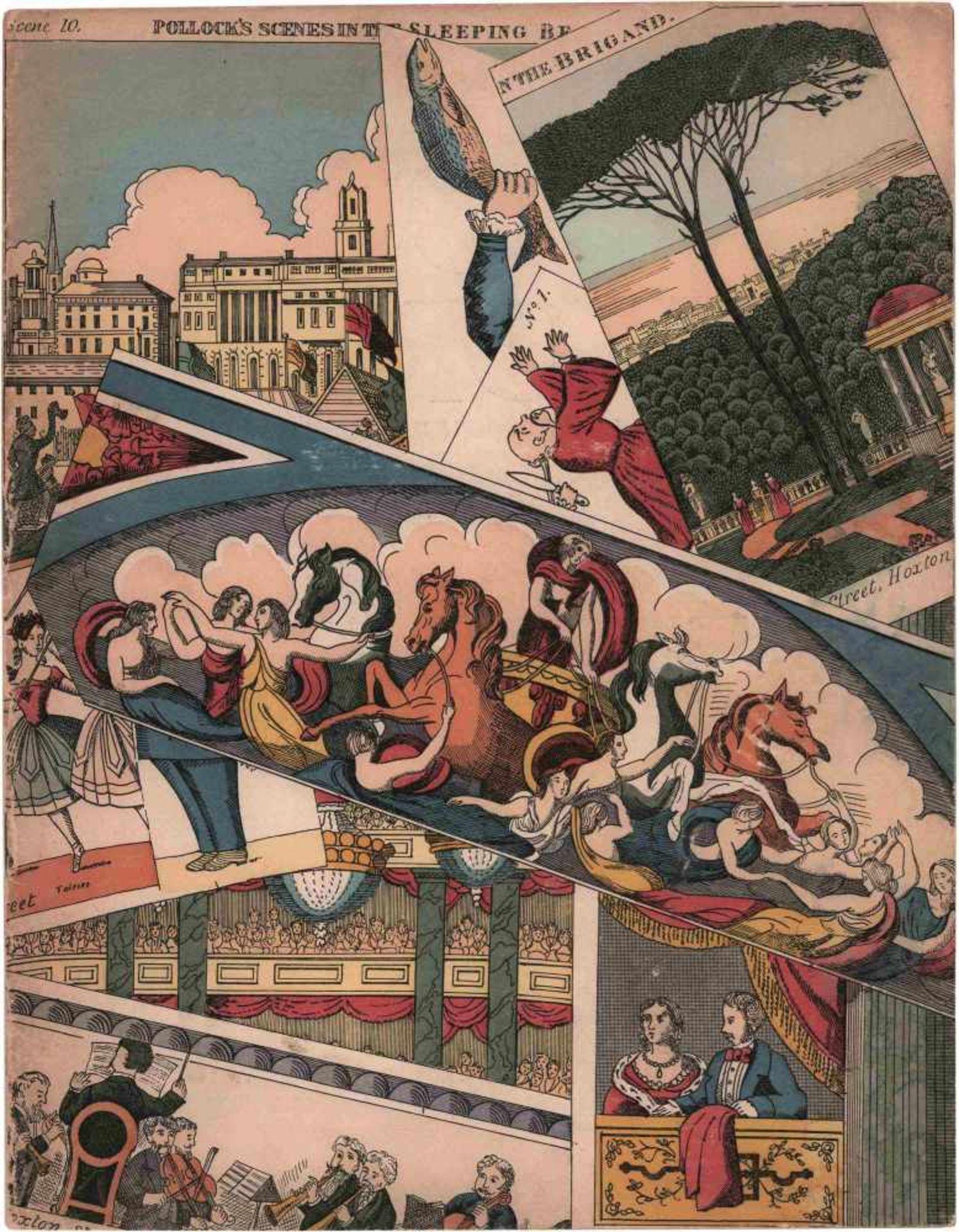 [BALLETS RUSSES, DIAGHILEW] Ballets Russes von Sergei Djagilew der Aufführung vom 27. und 29.