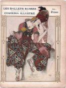 [BALLETS RUSSES, BAKST, MARTY] Zeitschrift Comoedia Illustré / Russische Saison in der Oper, Théâtre