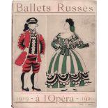 [BALLETS RUSSES, BAKST, DERAIN, MARTY, PICASSO] Ballets Russes in l'Opéra de Paris, 11. Saison,