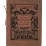 "[OPERA RUSSE, BAKST, BENOIS, BILIBIN, JUON, GOLOWIN, SEROW, SOMOW] Oper ""Boris Godunow"" im Théâtre"