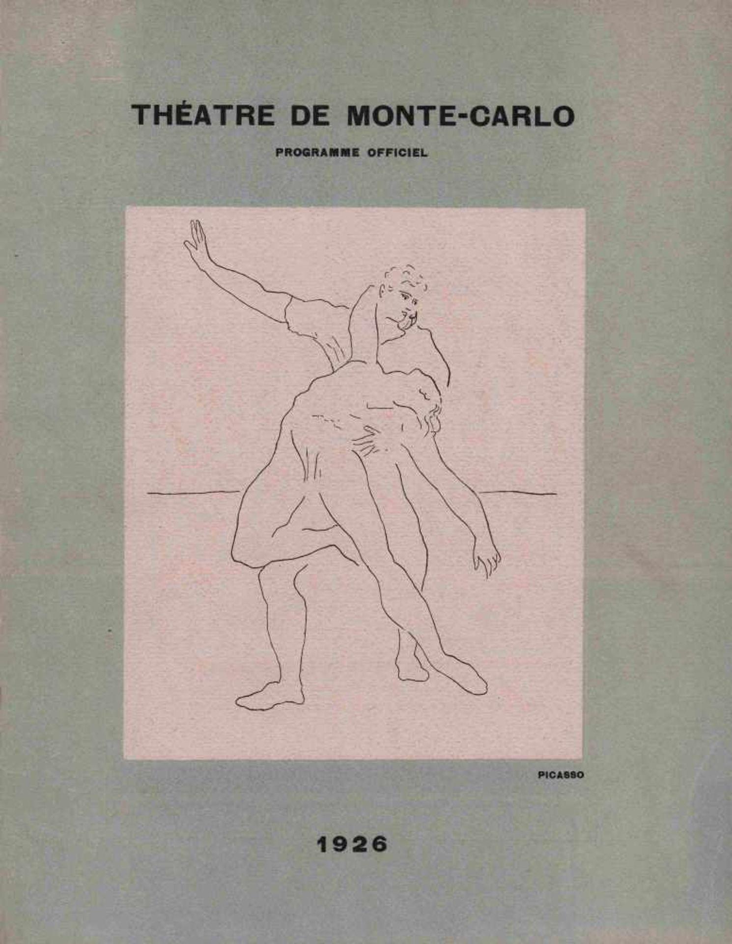 [BALLETS RUSSES, BRAQUE, PICASSO, PRUNA, UTRILLO] Ballets Russes im Théâtre de Monte-Carlo, 1926. M.