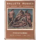 [BALLETS RUSSES, GRIS, LARIONOW, PICASSO] Ballets Russes im Théâtre de la Gaîté-Lyrique, 14. Saison,