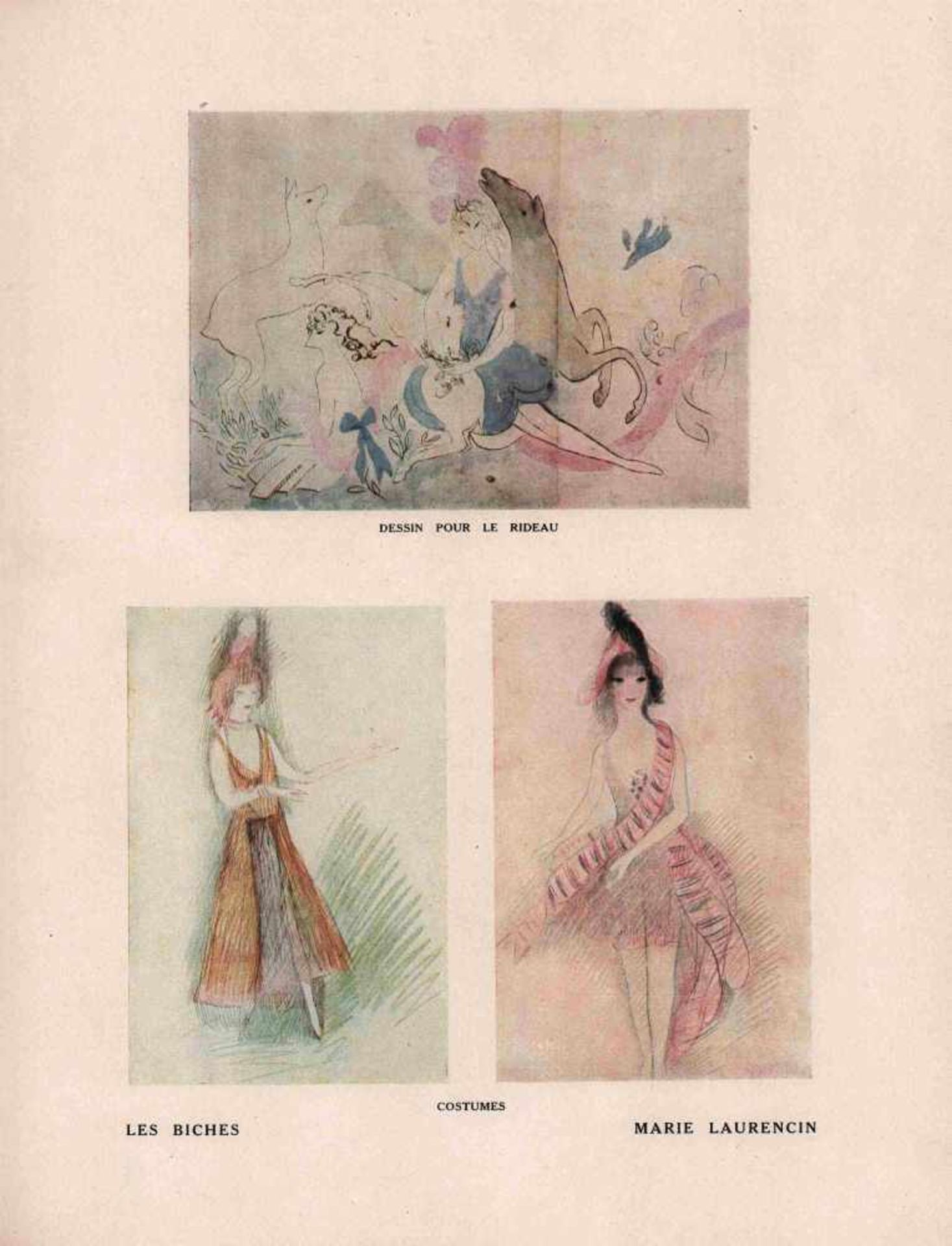 [BALLETS RUSSES, BRAQUE, GRIS, LAURENCIN, PICASSO] Ballets Russes im Théâtre de Monte-Carlo, Januar, - Bild 2 aus 2